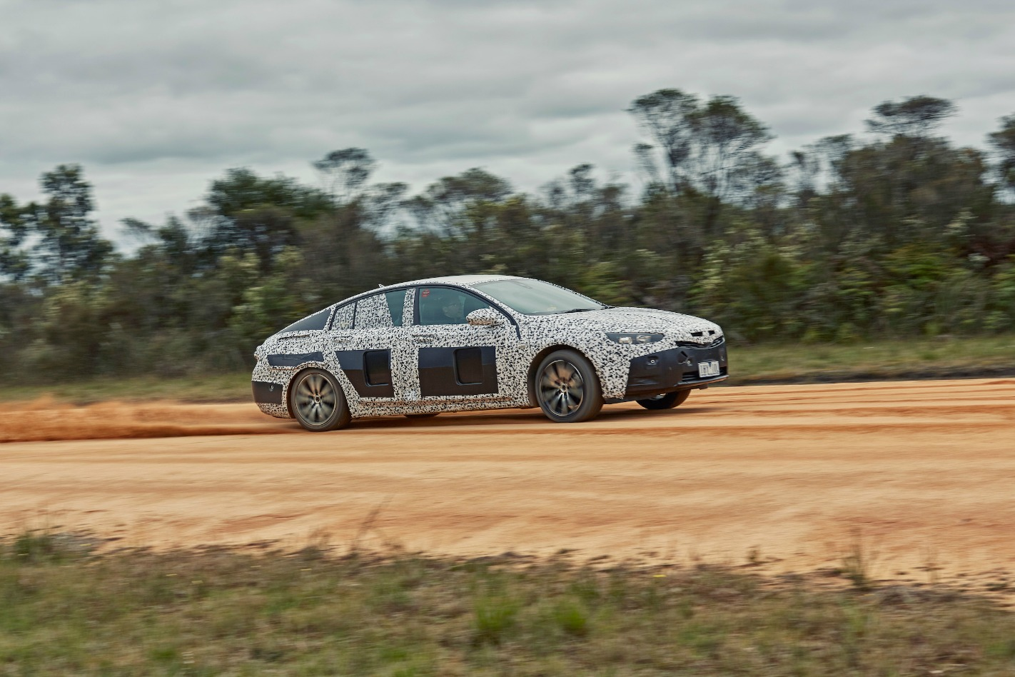 2018 Holden NG Commodore Drift Front