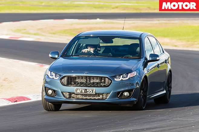 Ford falcon xr6 sprint front