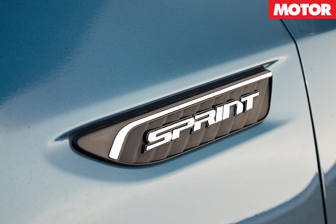 Ford falcon xr6 sprint badge