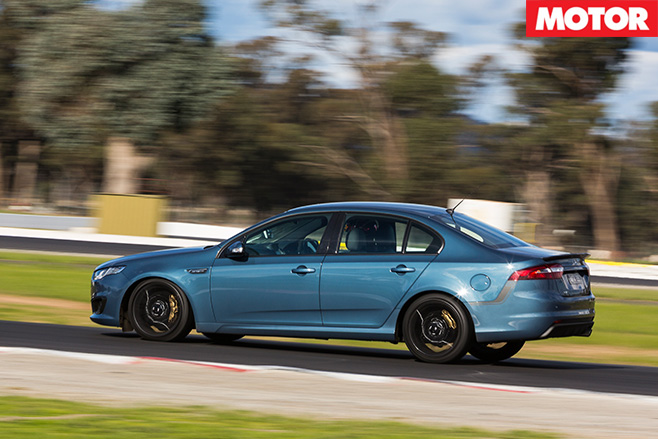 Ford falcon xr6 sprint side
