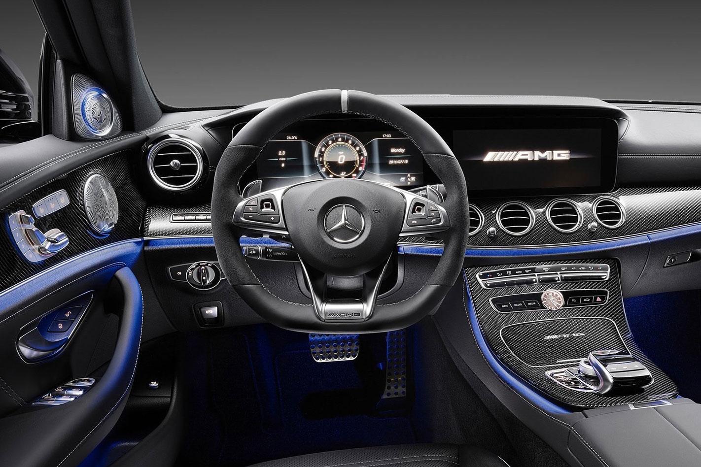 2017 Mercedes-AMG E63 interior