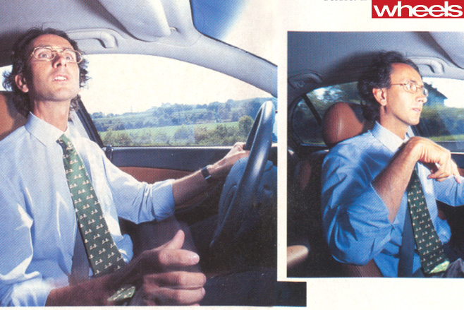 Holden -VT-Commodore -italian -drivign