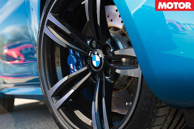 BMW M2 Pure wheel