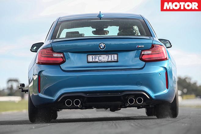 BMW M2 Pure rear