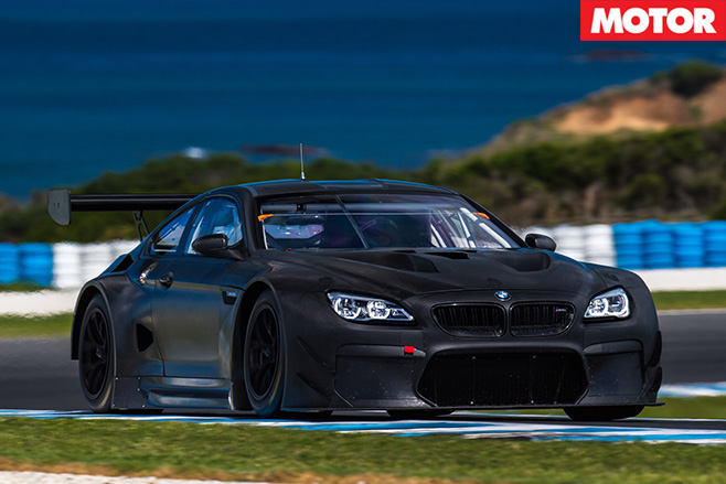 BMW M6 GT3 front