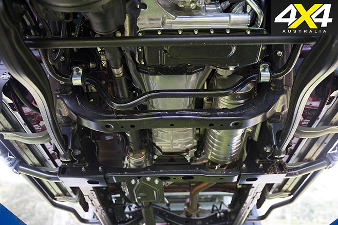 Toyota Landcruiser 70-Series DPF and underbody