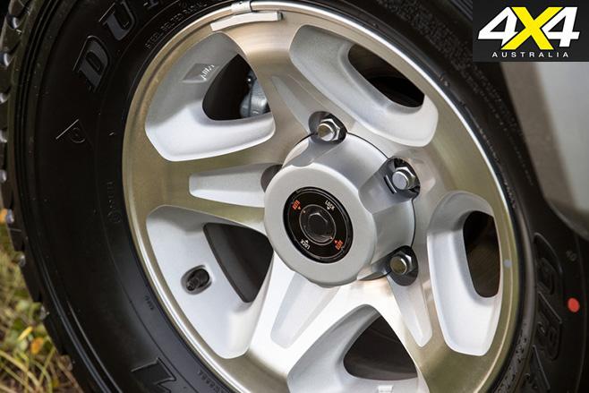 LC70 wheel