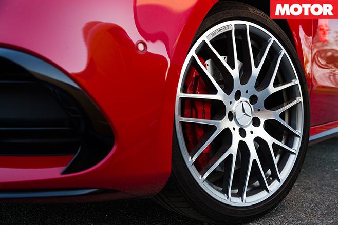 Mercedes-AMG A45 wheel