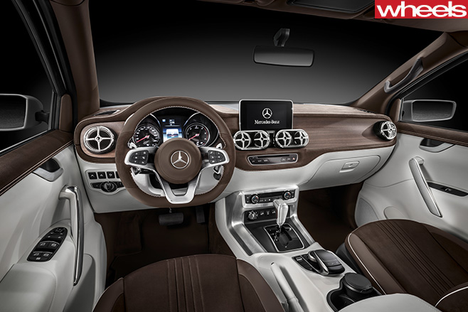 Mercedes -Benz -utility -vehicle -interior