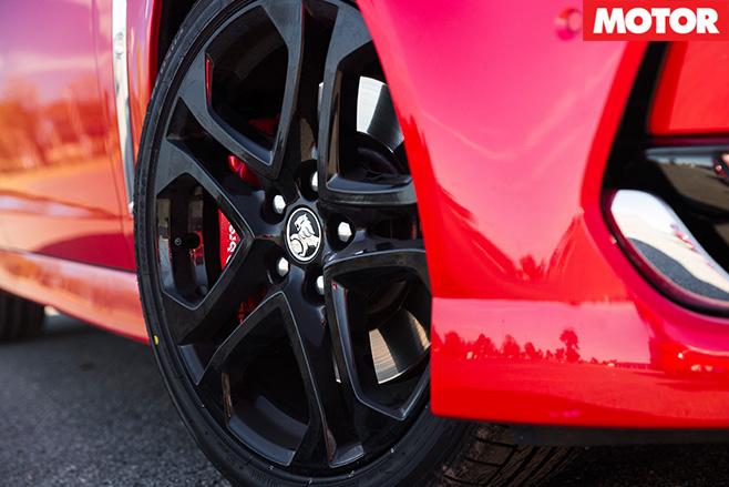 Holden SS-V redline wheels