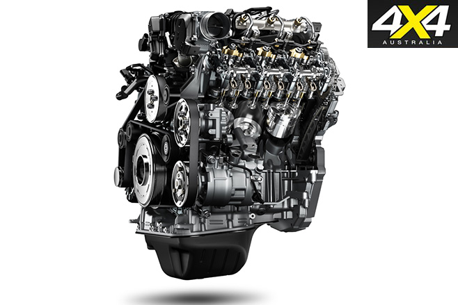 New volkswagen amarok v6tdi engine