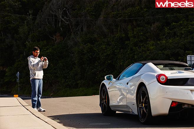 Ferrari -458-convertible -photo