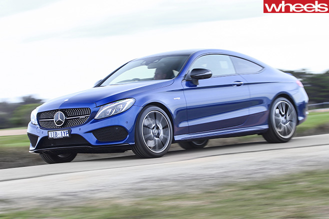 Mercedes -AMG-C43-driving -front