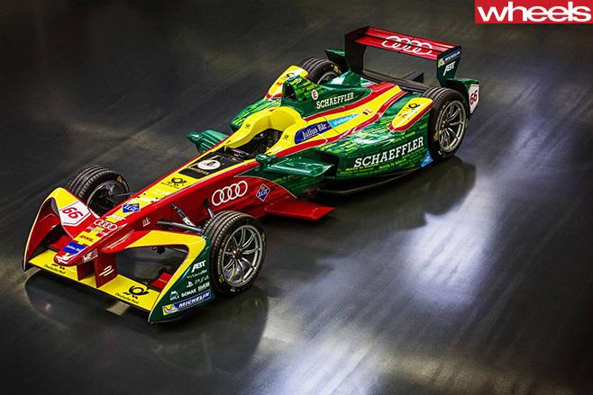 Audi -WEC-race -car -top -side