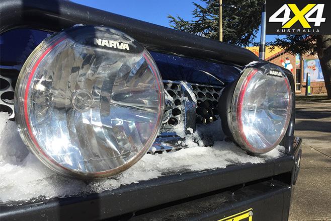 Deano's Nissan D22 Navara -lights
