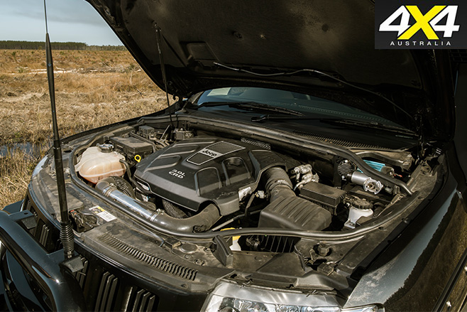 Jeep -WK2-Grand -Cherokee -Murchison -engine