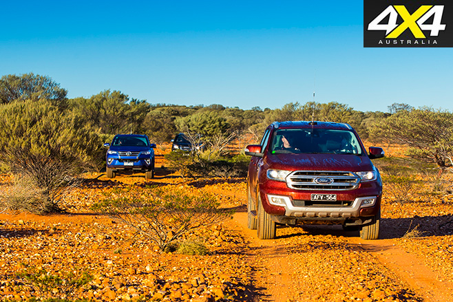 Ford everest leads the pack