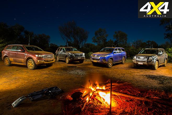 4 4x4 wagons camping