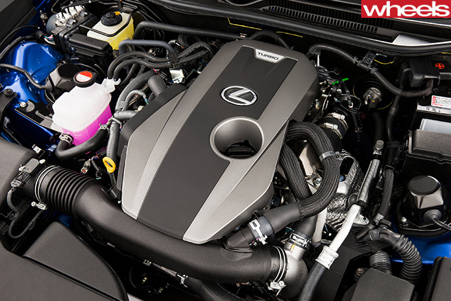 2016-Lexus -RC200t -engine