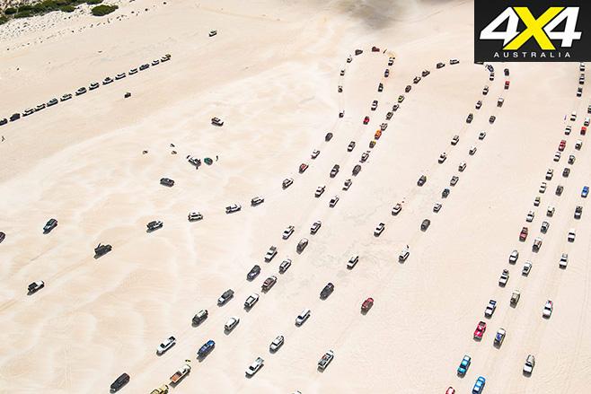 Longest 4WD convoy