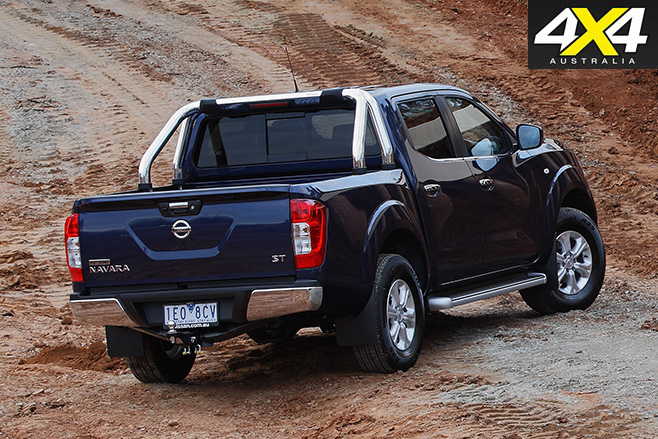 Nissan Navara series II update rear