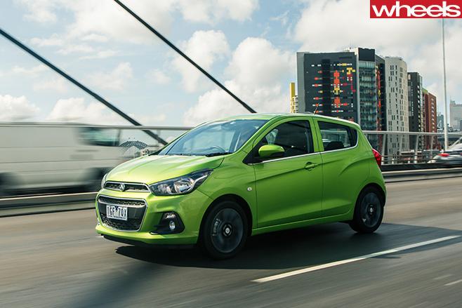 Holden -Spark -front