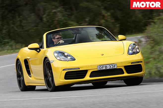 Porsche 718 convertible