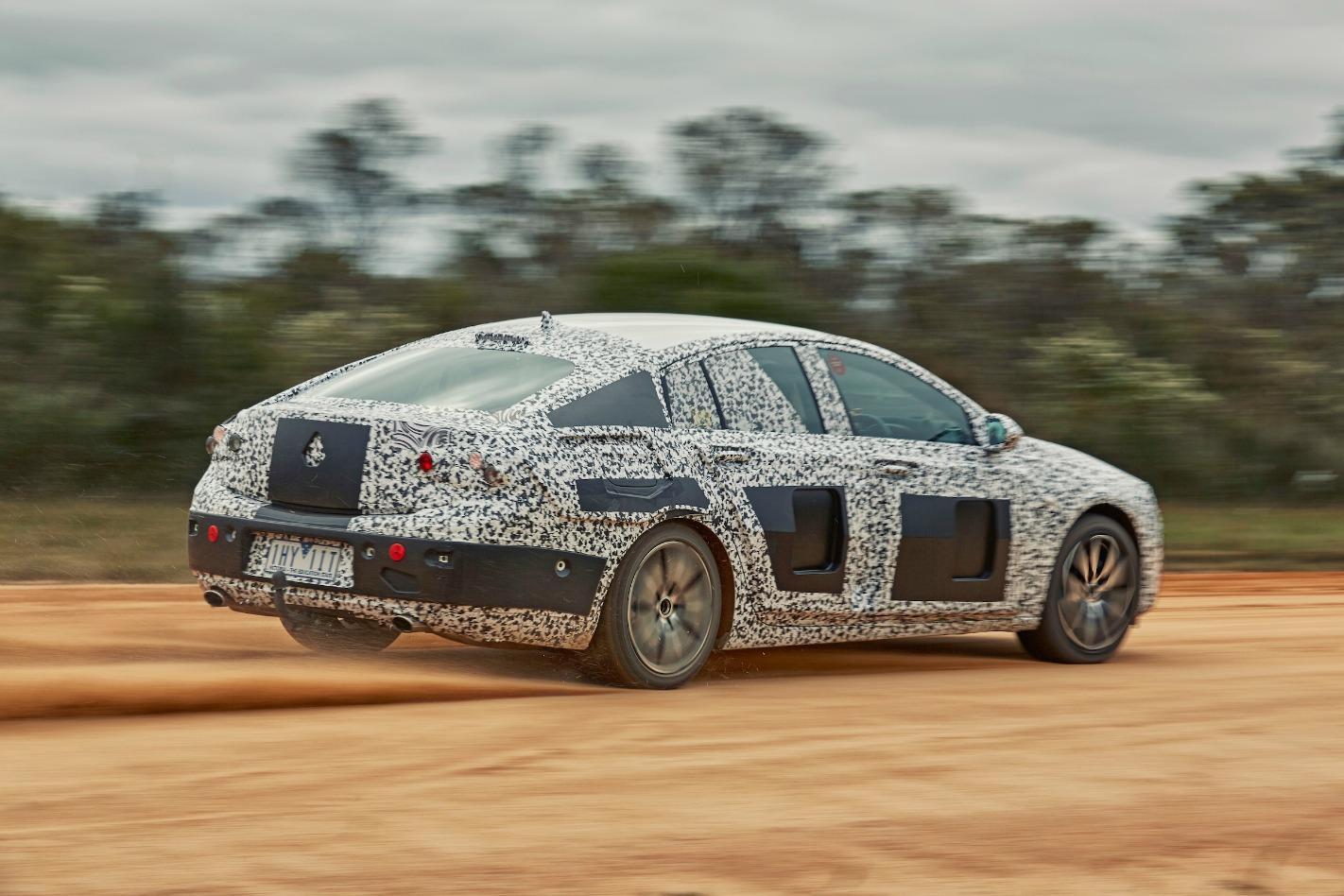 2018 Holden NG Commodore Rear Drift