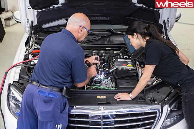 Mercedes -Benz -engine -tune