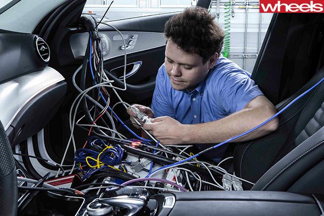 Mercedes -benz -wiring