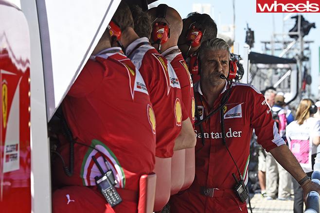 Ferrari -F1-team