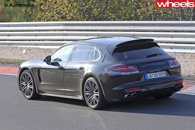 Porsche -Panamera -sport -turismo -rear