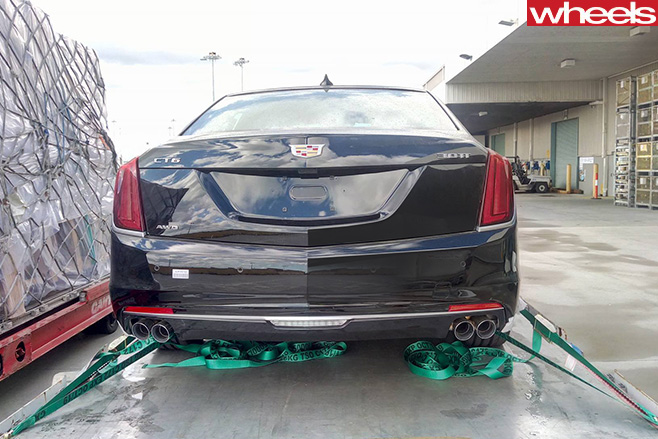 Cadillac -CT6-rear