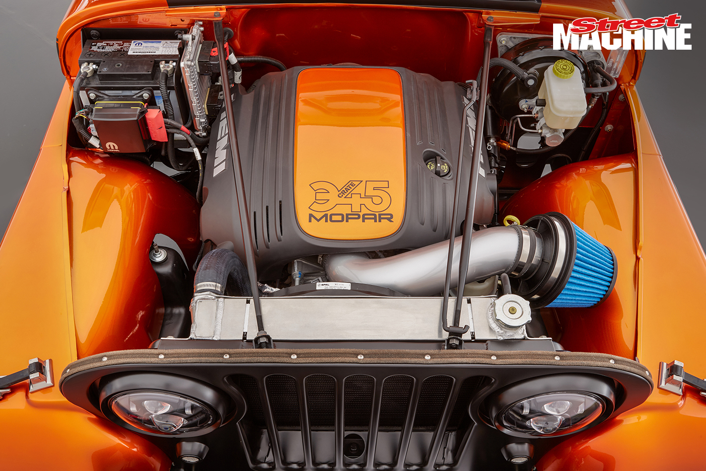Mopar Hemi Conversion Kit SEMA 2