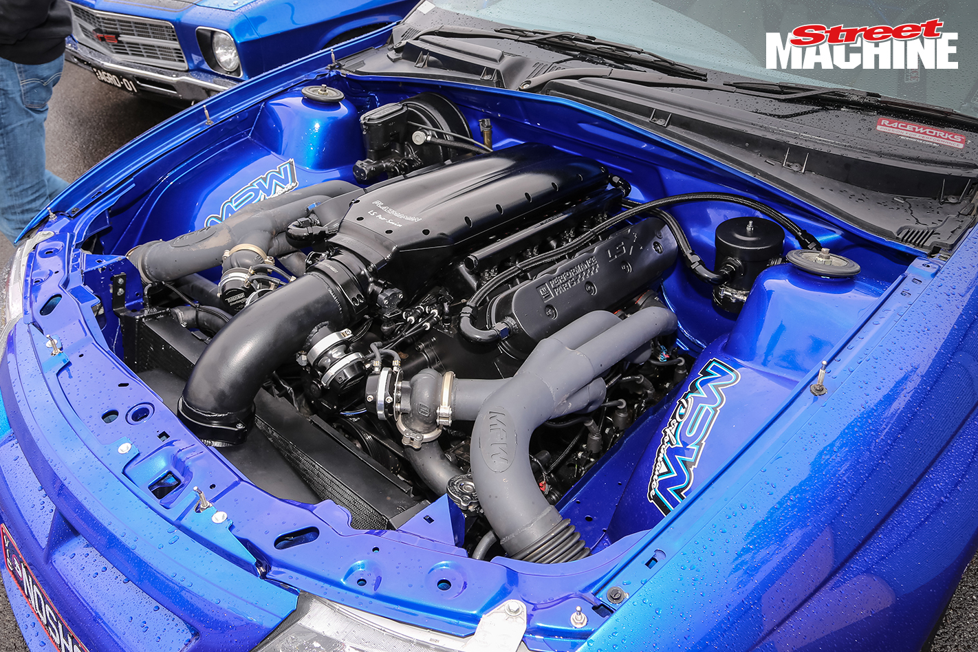 HSV Clubsport NOSHOW Engine