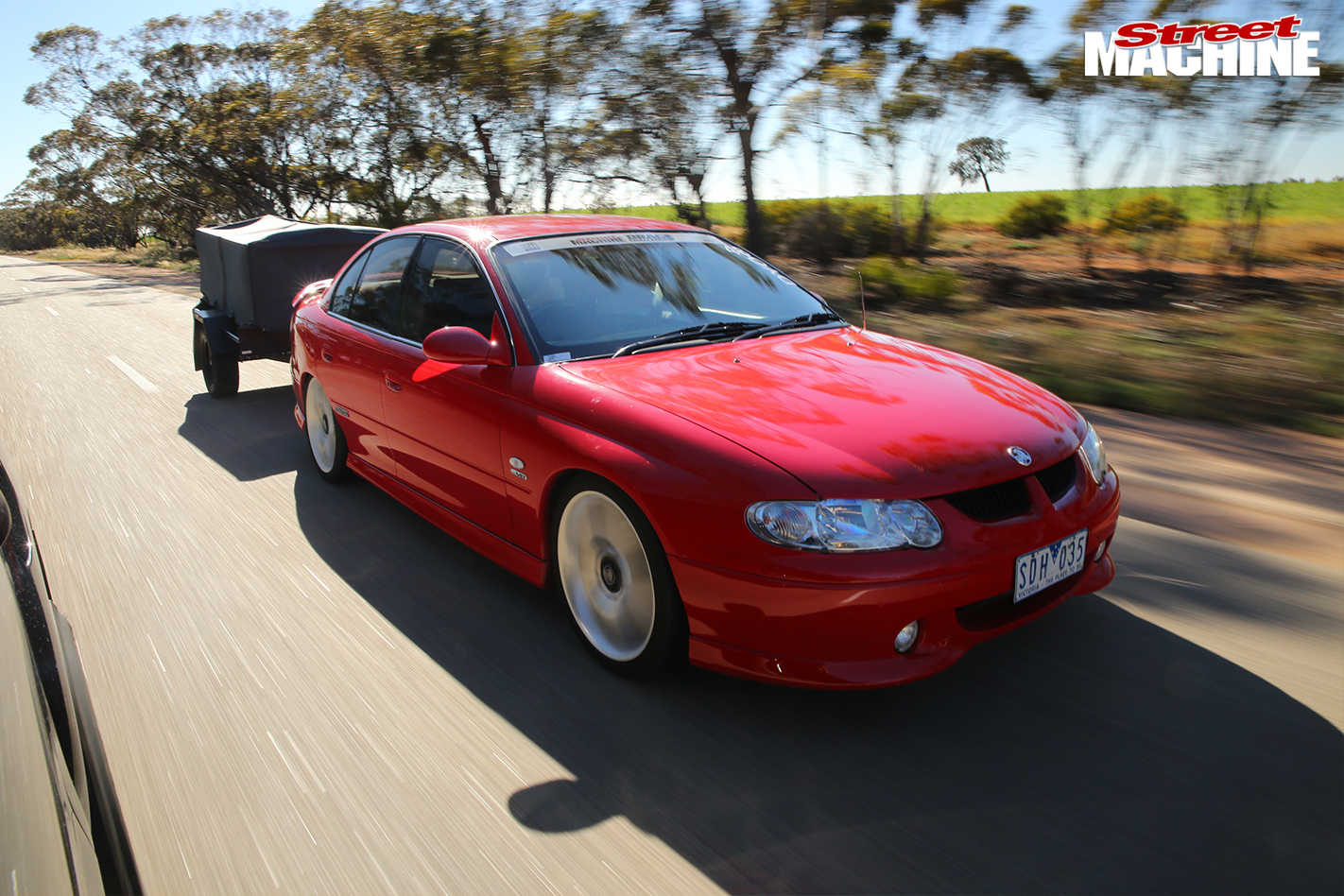 Holden -vx -commodore -ss -drag -challenge -onroad