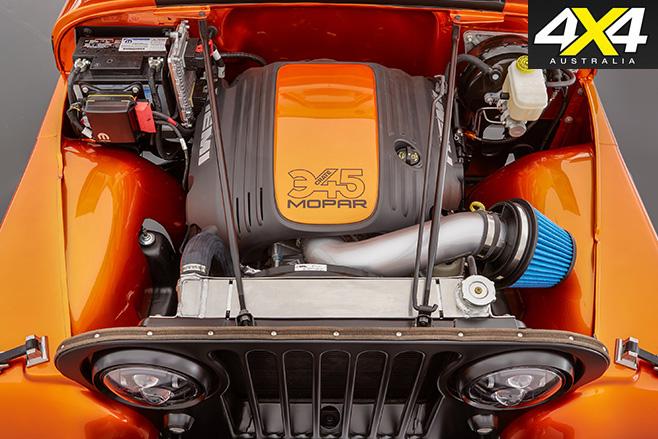 Jeep Wrangler CJ66 Crate HEMI engine kit