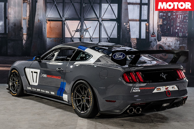 Ford Mustang GT4 rear