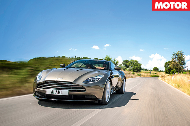 Aston Martin DB11 front -driving