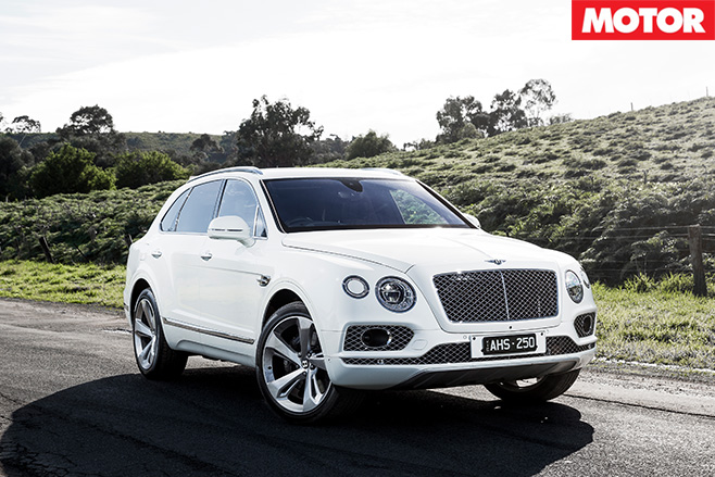 2016 Bentley Bentayga still