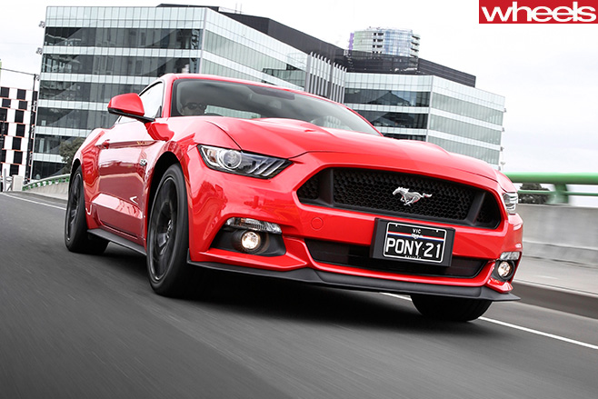 Ford -Mustang -front