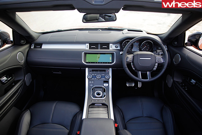 Range -Rover -Evoque -convertible -interior