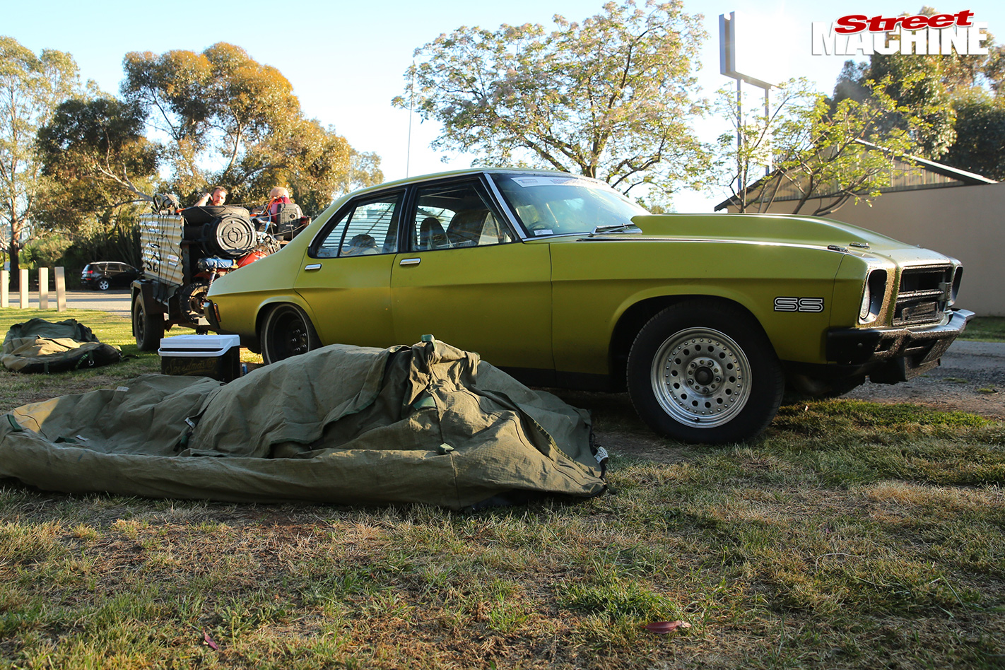 Harry -haig -hq -monaro