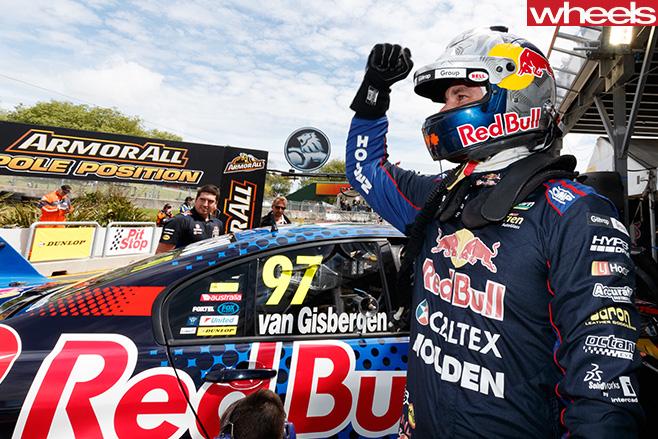 Shane -Van -Gisbergen -celebrating