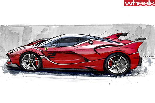 Ferrari -FXXK-Fm -design -concept