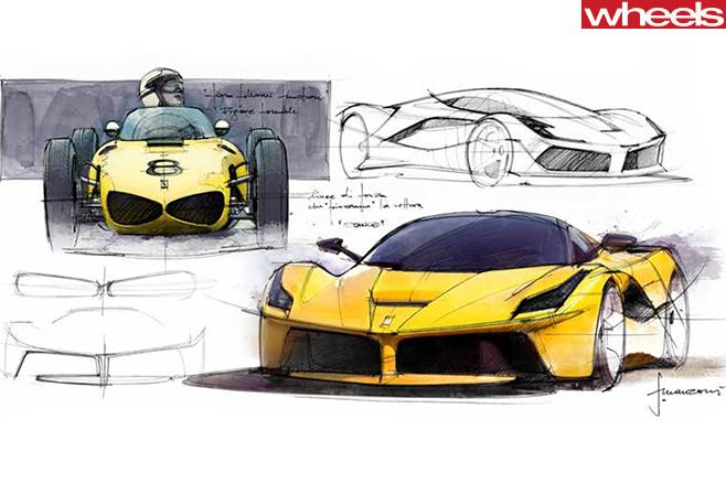 Ferrari -sketches
