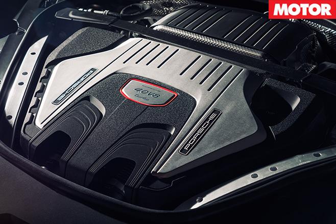 2017 Porsche Panamera Turbo engine