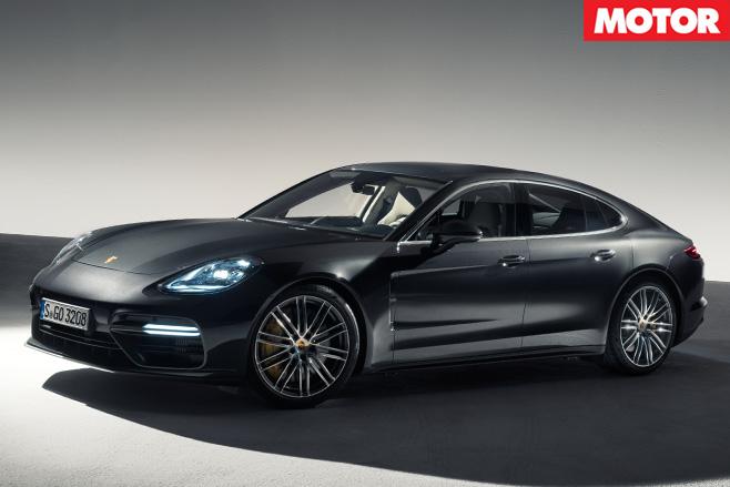 2017 Porsche Panamera Turbo side