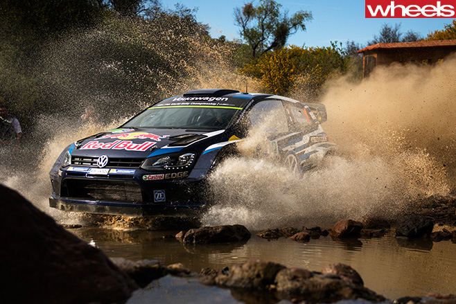 Volkswagen -Polo -R-driving -through -water