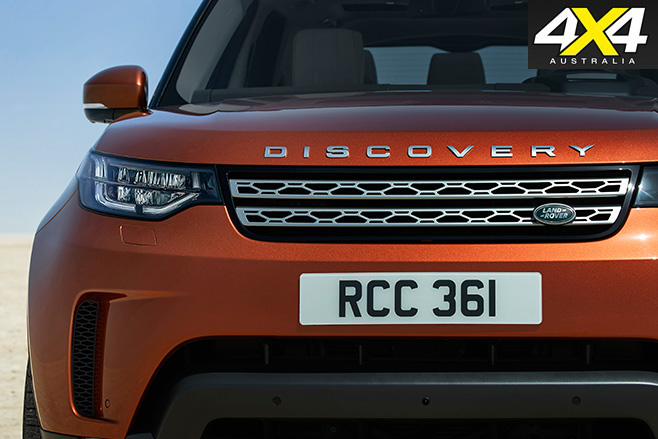 Fifth-gen Land Rover Discovery front
